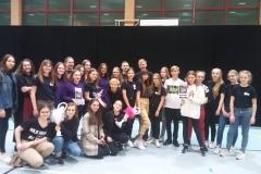 Szoł - nagroda wyróżnienie honorowe DANCE OBSESSION - 1 miejsce AZYL - grand prix